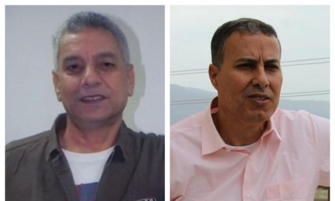 """الأسير أبو جابر يهنئ المحرر سرساوي عبر """"عرب 48"""""""
