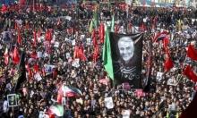 """جثمان سليمان لم يوار الثرى والحشود الإيرانية تطالب بـ""""رد مزلزل"""""""