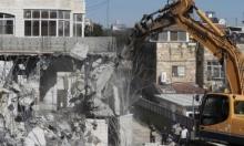 جبل المكبر: عائلة نصار تهدم منزلها بيدها لتبقى دون مأوى