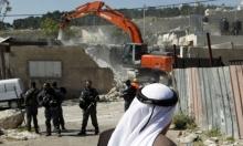 الاحتلال يهدم منشأة غربي رام الله
