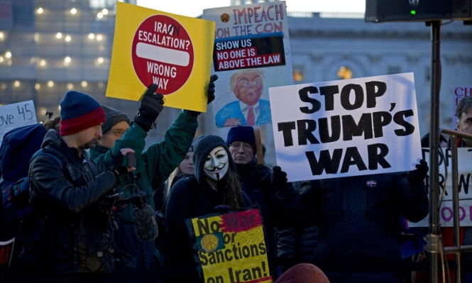 النواب الأميركي يصادق على قرار يقيد صلاحيات ترامب بمحاربة إيران