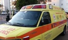 حوادث دهس: إصابة متوسطة لامرأة بأم الفحم ولطفل برهط