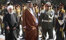 أمير قطر في طهران لبحث خفض التصعيد بالمنطقة