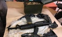 مداهمات واعتقالات وضبط أسلحة ومخدرات في بلدات عربية
