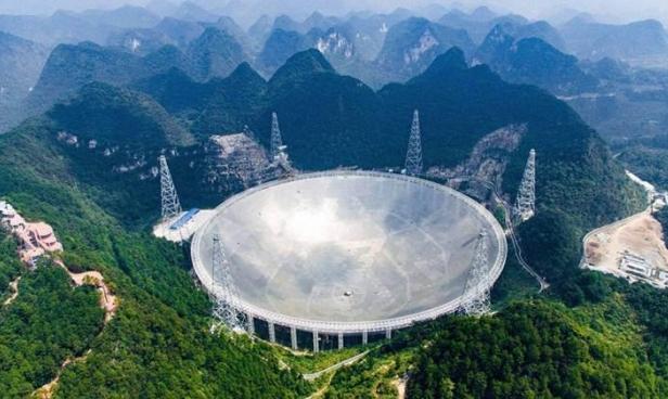 الصين تفعّل أكبر تلسكوب في العالم لالتقاط موجات الراديو