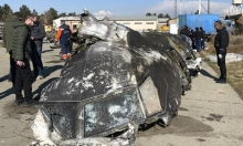 """إيران تعتقل """"المتورطين"""" في إسقاط الطائرة الأوكرانية"""