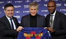 مدرب برشلونة: هدفي هو الفوز بكل شيء ننافس عليه