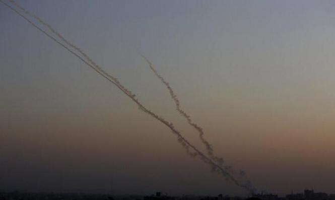 جيش الاحتلال: رصد إطلاق 4 قذائف صاروخية واعتراض اثنين