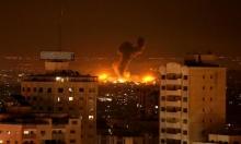 طيران الاحتلال يقصف أهدافًا لحماس بغزة