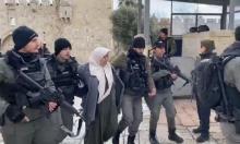 القدس: الاحتلال يعتقل سيدة بزعم محاولة تنفيذ عملية طعن