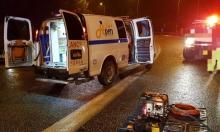 5 إصابات في حادث طرق قرب يركا