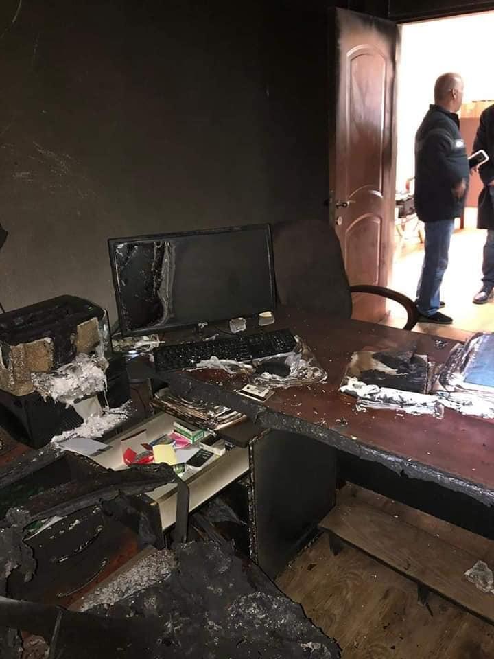 إضراب في مجلس شعب إثر حريق بالمبنى