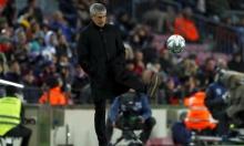 """مدرب برشلونة يلوم """"كامب نو"""" رغم الفوز!"""