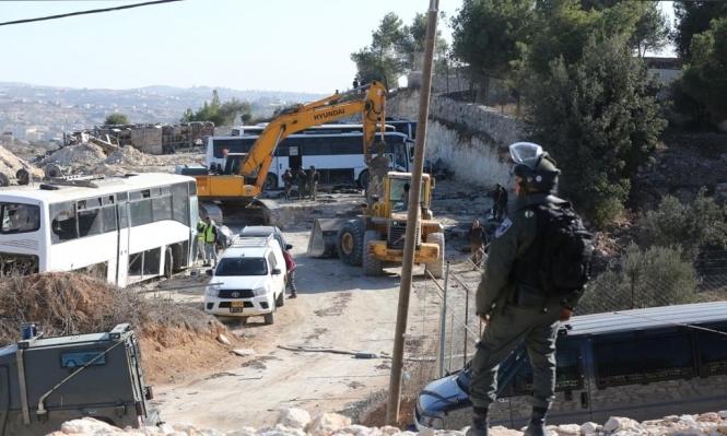 إخطارات بهدم 18 منزلا في محافظة الخليل