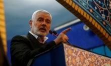 """حماس: """"عتب مصري"""" على مشاركة هنية بتشييع سليماني"""
