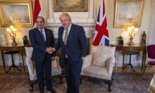 السيسي يلتقي لجونسون لتعزيز العلاقات التجارية بين البلدين
