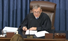 بدء إجراءات محاكمة ترامب في مجلس الشيوخ الأميركي