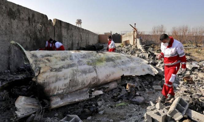 إيران: الطائرة الأوكرانية أُسقطت بصاروخين