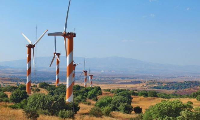 أهالي الجولان يواجهون عنفات الرياح الإسرائيلية