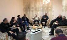 التجمع يزور رئيس مجلس يافة الناصرة إثر تعرضه لاعتداء جسدي