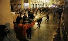 بيروت: 50 إصابة خلال الاحتجاجات أمام البرلمان