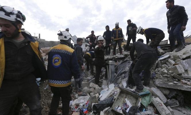 40 قتيلا وعشرات الجرحى بغارات للنظام وروسيا على إدلب وحلب