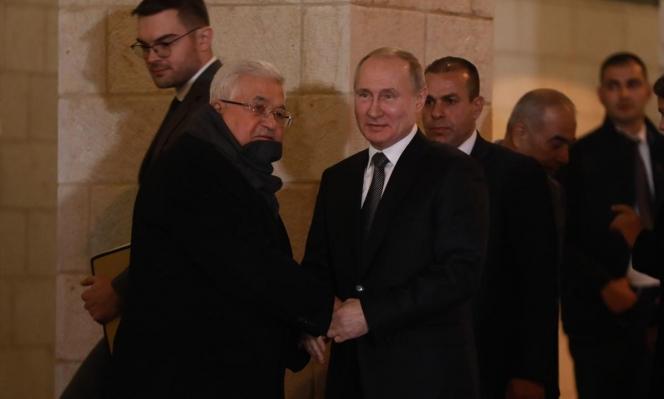 عباس يستقبل بوتين في بيت لحم