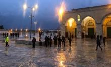 القدس: شرطة الاحتلال تقتحم المسجد الأقصى وتنفذ حملة اعتقالات