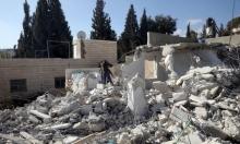"""الاحتلال يصعد بهدم منازل الفلسطينيين بالقدس ومناطق """"ج"""""""