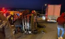 14 إصابة بحادثي طرق قرب الناصرة و البعينة