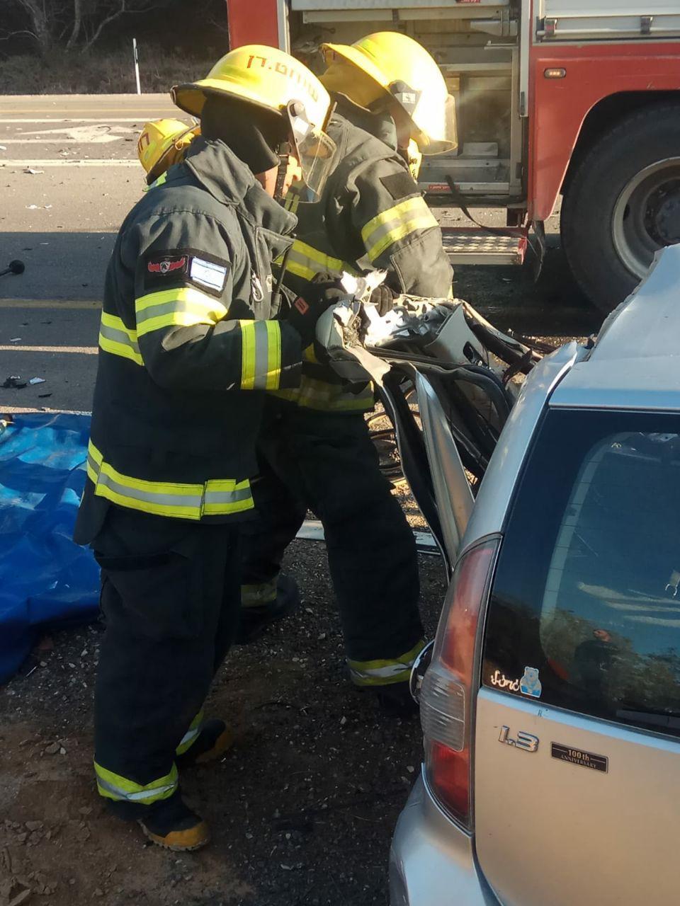 مصرع امرأة في حادث طرق بالنقب