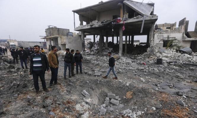 سورية: قتلى بقصف روسي والنظام يوشك السيطرة على معرة النعمان