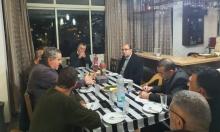 أبو شحادة يلتقي جمعية الدفاع عن الأوقاف الأرثوذكسية
