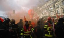 فرنسا: مواجهات بين رجال الإطفاء وقوات الأمن
