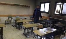 نابلس: مستوطنون يحرقون صفا مدرسيا ويتوعدون بهدم المنازل