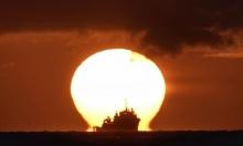 حريق بسفينة بريطانية قبالة ساحل الإمارات