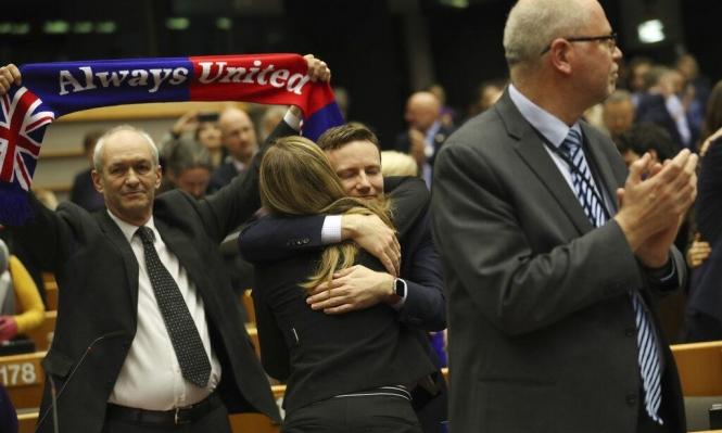البرلمان الأوروبي يصادق على اتفاقية بريكست