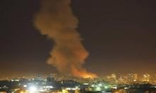 الاحتلال يشن غارات في قطاع غزة