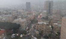 حالة الطقس: بارد جدا وأمطار متفرقة