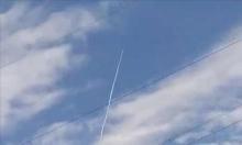 تجربة إسرائيلية على نظام دفع صاروخي