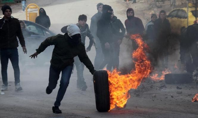 إصابات في مواجهات مع الاحتلال في الضفة وغزة