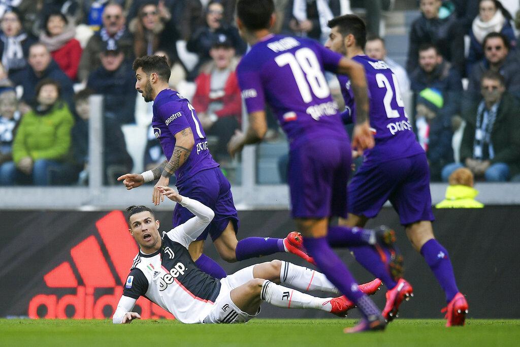 كريستيانو يقود يوفنتوس للفوز على فيورنتينا