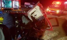 3 إصابات في انقلاب سيارة بالنقب