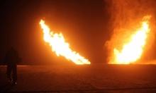 تفجير خط الغاز بين إسرائيل ومصر بمحافظة شمال سيناء