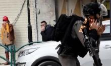 إصابة ضابط بشرطة الاحتلال بمولوتوف في وجهه