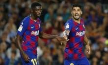 برشلونة يكشف حجم إصابة ديمبلي