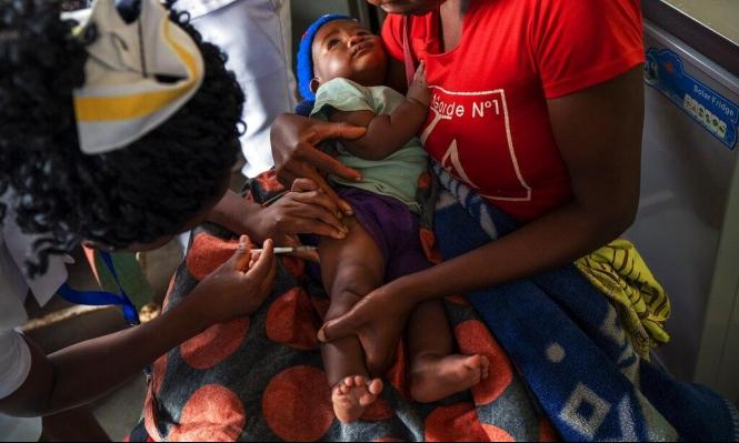 حملة تطعيم لـ45 مليون طفل ضد مرض الحصبة