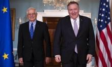 وزير خارجية الاتحاد الأوروبي يطلع واشنطن على نتائج زيارته إلى طهران