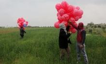"""بالونات مفخخة بـ""""غلاف غزة"""" وإصابة برصاص الاحتلال شمالي القطاع"""