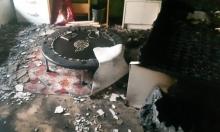 طمرة: إصابتان إثر حريق في منزل مأهول